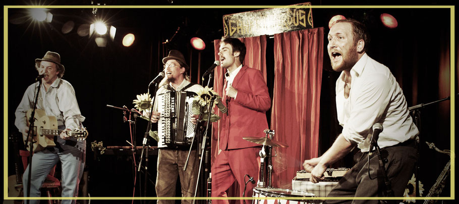 Gankino Circus am Samstag, 23. April 2016 in Bächingen